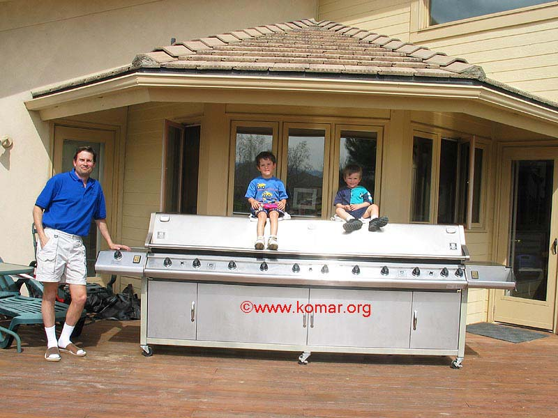 Now this is a big grill! - Custom Built Grills, Smokers & Outdoor ...