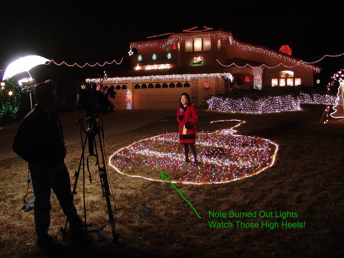 2004 christmas lights videos