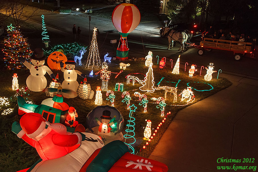 christmas front yard