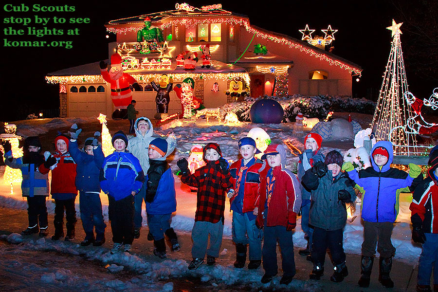 christmas lights cub scouts