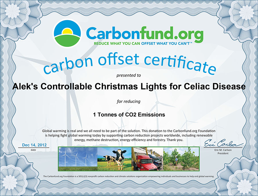 christmas carbon offset