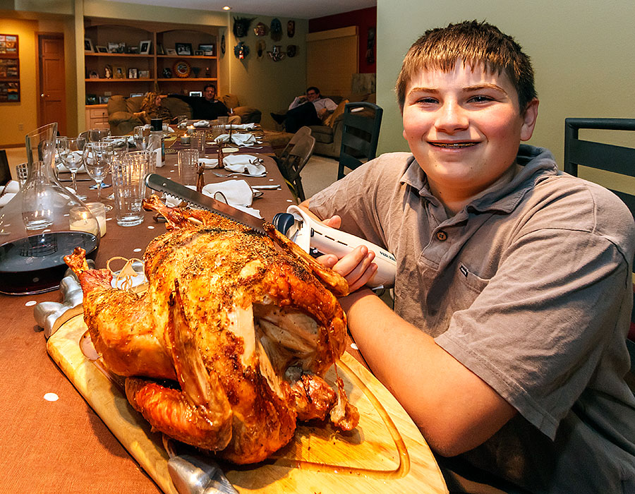 turkey carving alek