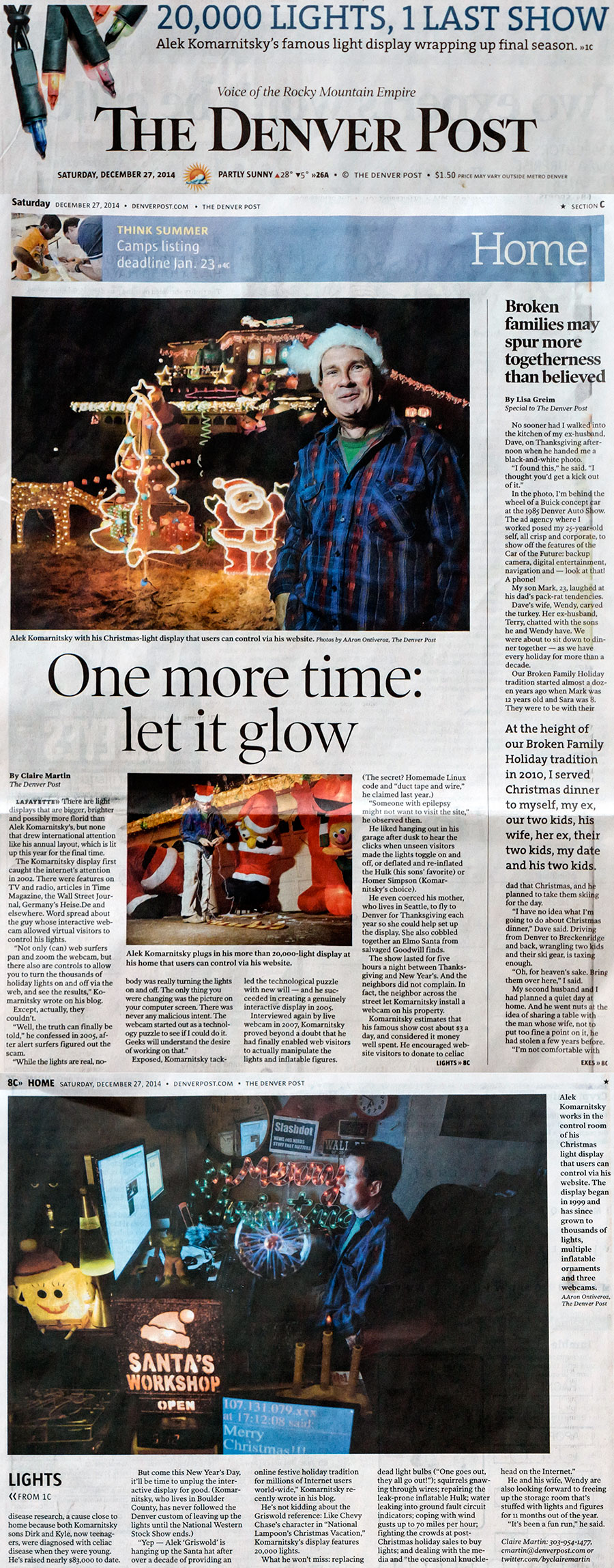 christmas denver post