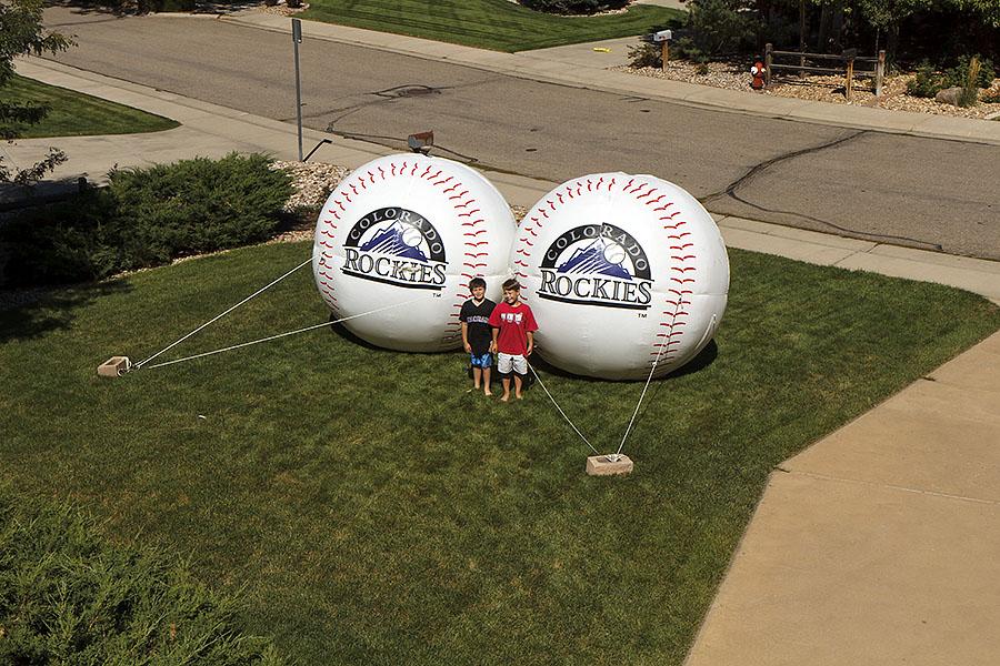 rockies baseballs