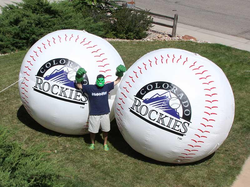 grass baseballs