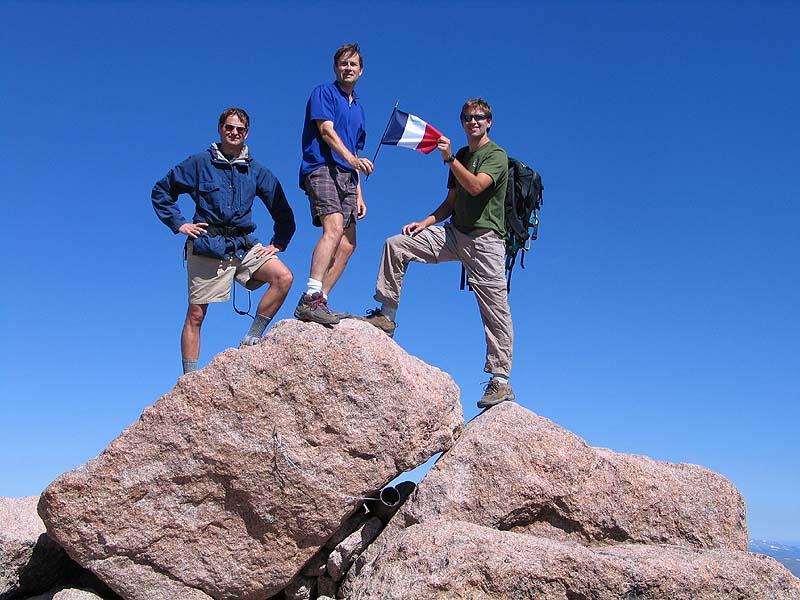Climbing Longs Peak Colorado