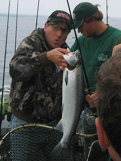 Seward alaska salmon fishing slayfest for Seward alaska fishing
