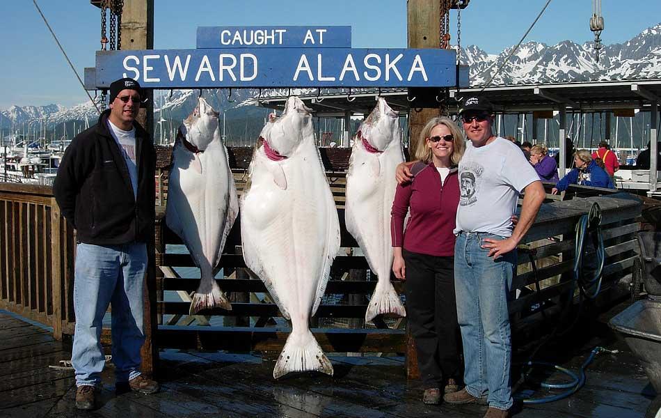 Seward jackpot halibut derby a monster for Seward halibut fishing