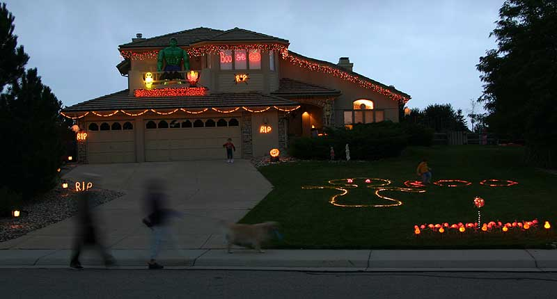 halloween decorations lights