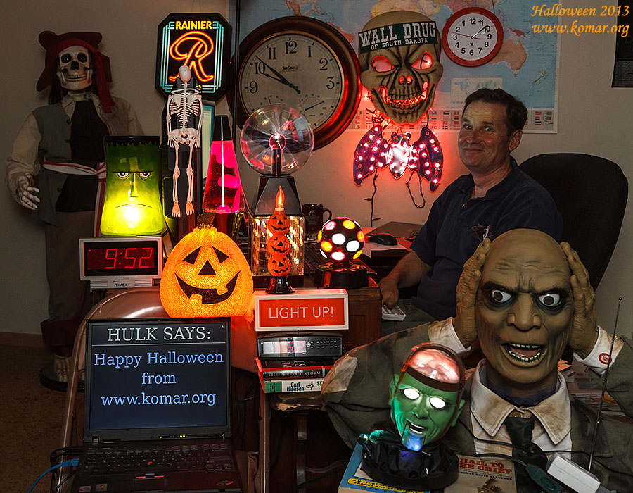 halloween haunted office