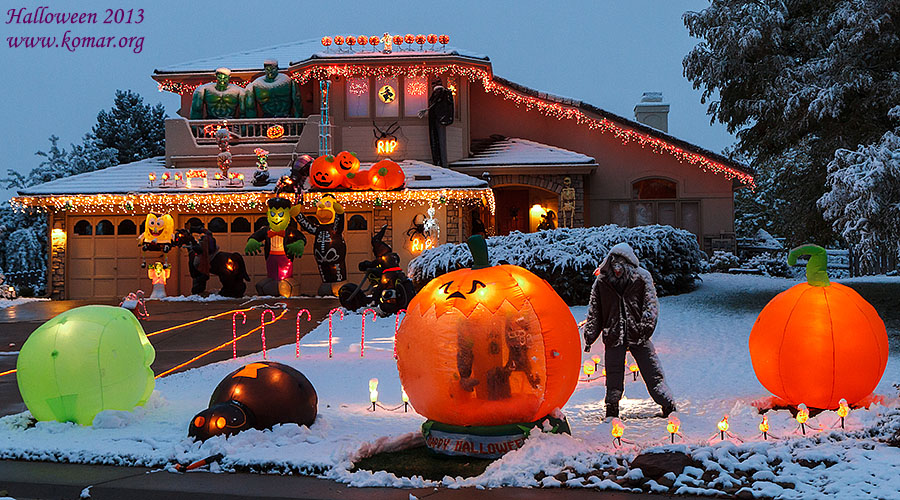 halloween house all