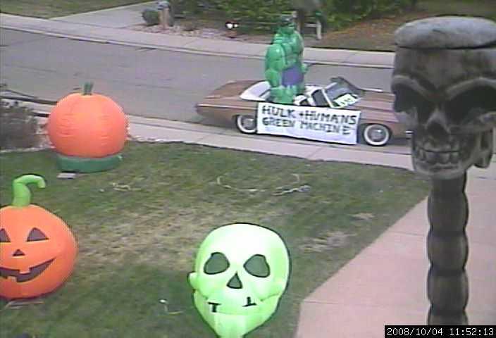 halloween hulkmobile