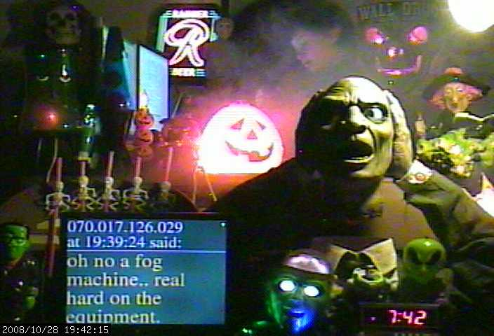 halloween fog machine