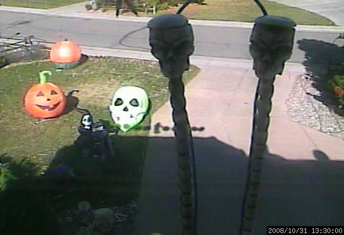 halloween webcam1 DSLR