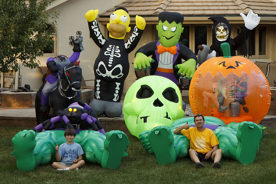halloween inflatables - Blow Up Halloween Decorations