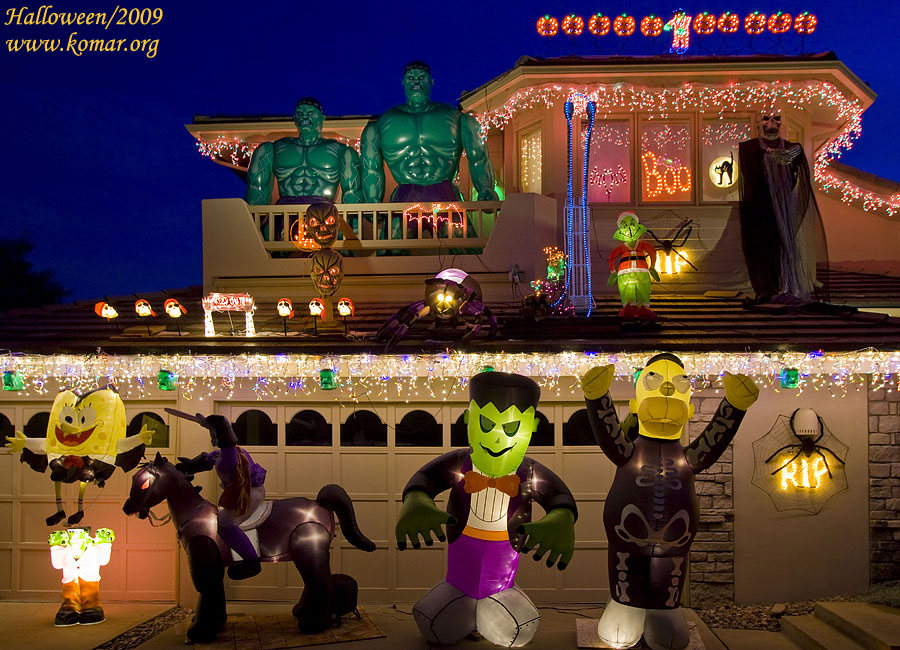 halloween house pictures