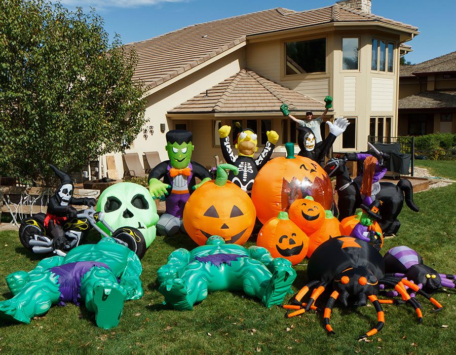 halloween inflatables tested