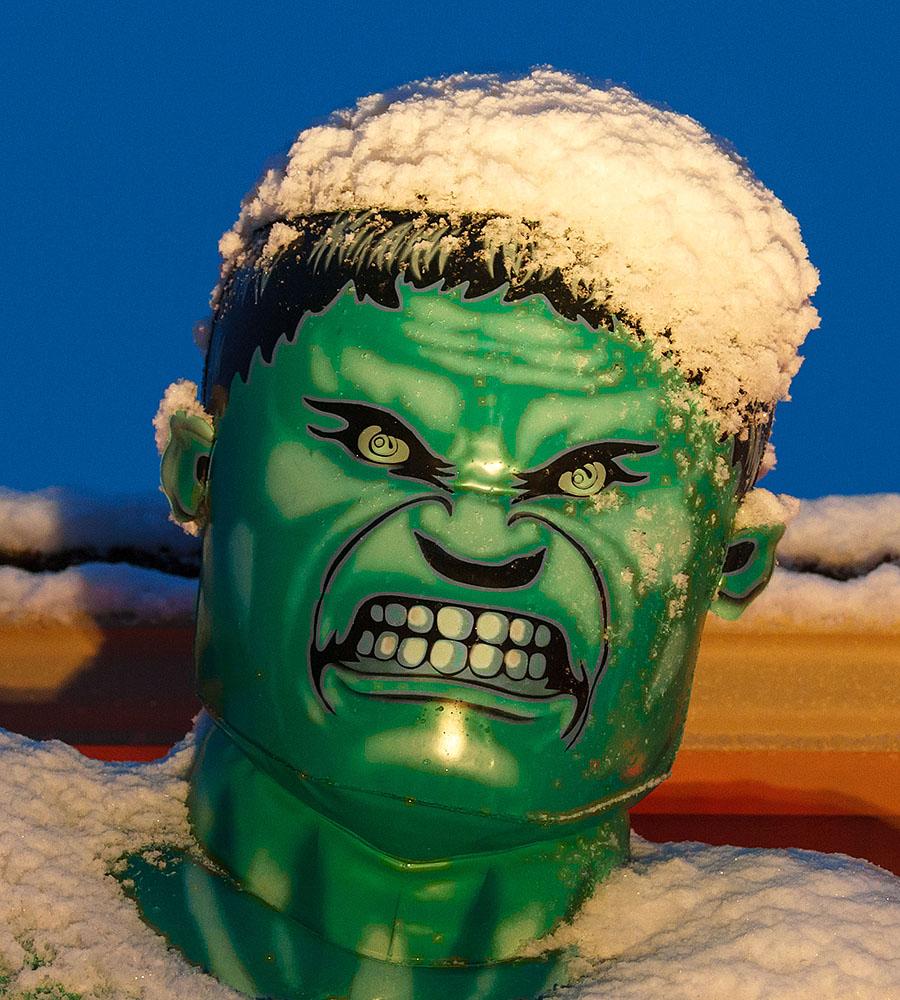 hulk closeup