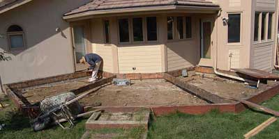 Stamped Concrete Patio Deck - MONGO!