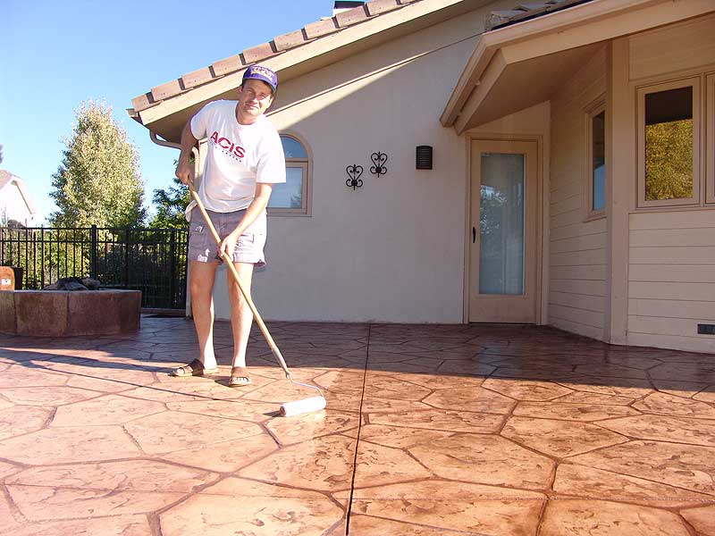 Wonderful Stamped Concrete Halfway