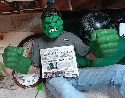 Good Hulk Costume Alek's Hulk Costume