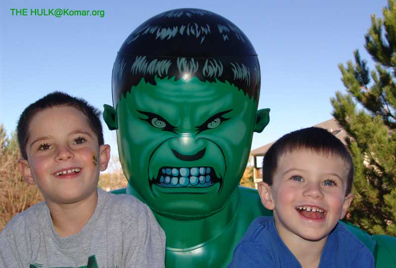 kids with hulk