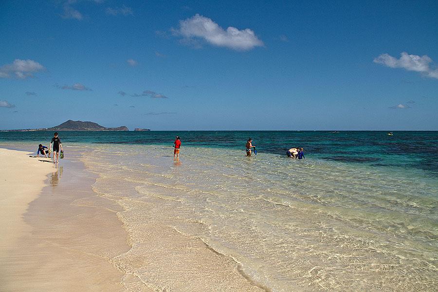 Snorkeling At Lanikai Beach Fun