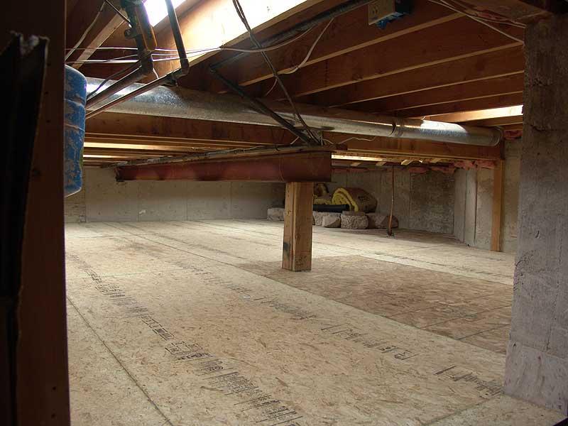 basement flooring last look