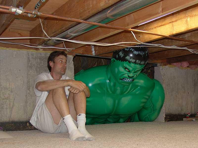hulk crawlspace