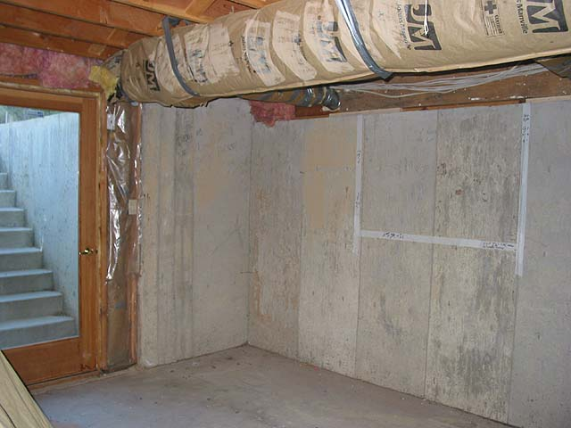 Cutting concrete for Concrete basement walls