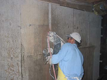 cutting concrete rh komar org Wiring Your Basement Insulating Basement Walls