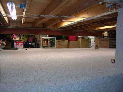I Have A Basement Crawl Space That Is Unfinished; I.e. It Is Just Dirt That  Is About 4u0027 Above The Foundation Floor Level And Provides About 4u0027 Of  Vertical ...